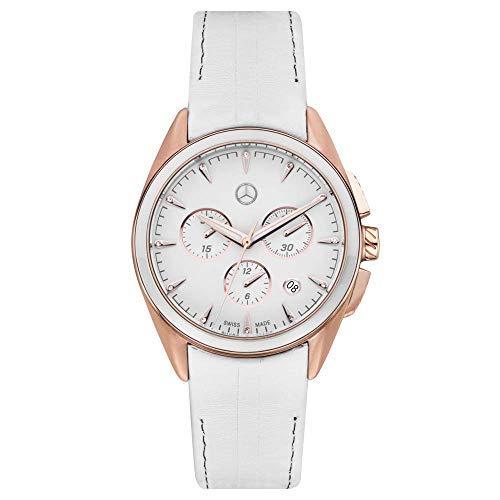 Mercedes Benz Original Reloj de Pulsera Mujer Cronógrafo Deportivo FASHION M 3