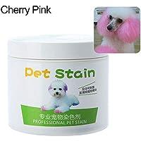 RIsxffp Agente colorante alérgico Anti de la Crema del Tinte del Perro del Gato de la
