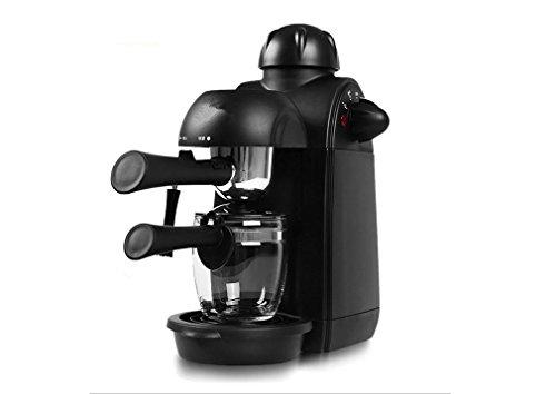 PLYY Máquina de café expreso Italiana Hogar Bomba de Vapor semiautomática de...