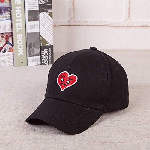 ENGXING Neueste Herz Cap Trend Hip Hop Papa Hut Mode König Für Männer Frauen Baumwolle Baseball Cap Dämon Xin Hut -