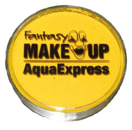 Peinture corporel maquillage AQUA fard à l' eau masque visage - JAUNE