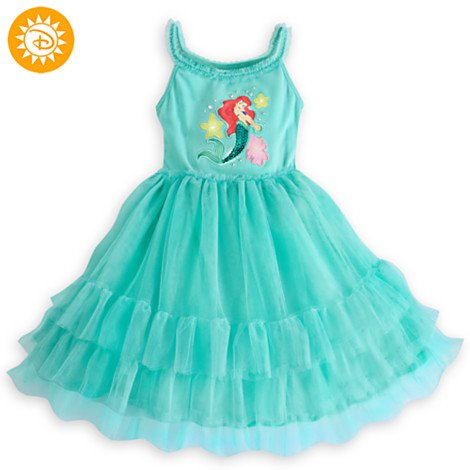 The Little Mermaid Strickkleid / Formal Dress Up Mädchen / Kinder Größe 3 Jahre (Little Up Mermaid Dress)