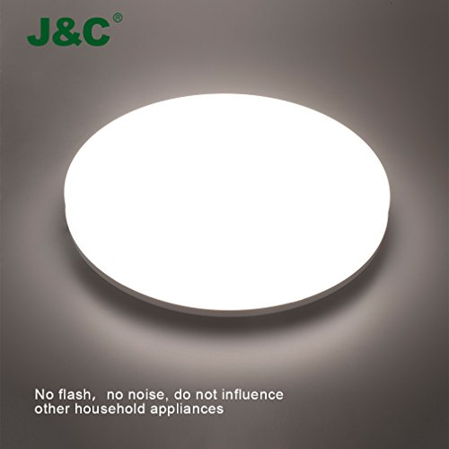 JNC® Led Downlight Plafón, IP44, 24W 4000K...