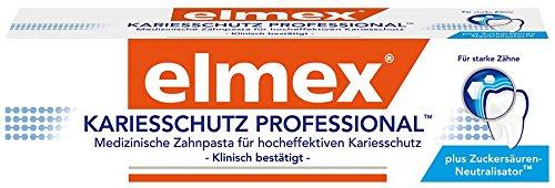 elmex Kariesschutz Professional Zahnpasta , 3er Pack (3 x 75 ml)