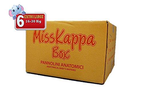 225 Pannolini MissKappa Formato Box taglia 6