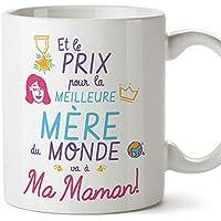 Mugffins Tasse/Mug pour Maman – Prix Pur la Meilleure Mère (modèle 3) – Idée Cadeau Fête des Mères/Anniversaire Originale