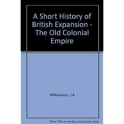 A Short History of British Expansion