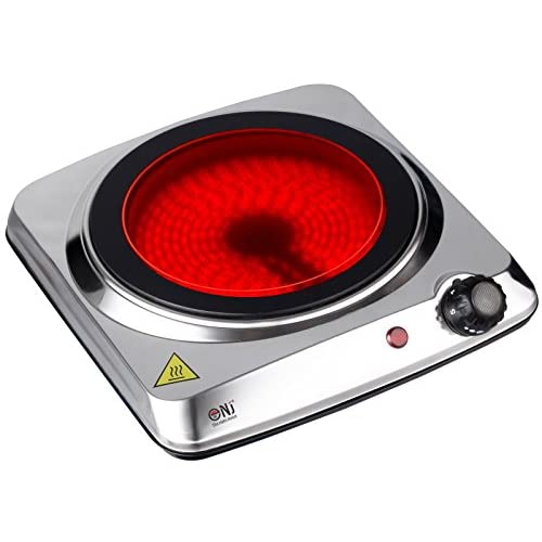 41mgPzq1A5L. SS500  - Portable Ceramic Infrared Electric Hot Plate Cooker Stainless Steel 1200W New