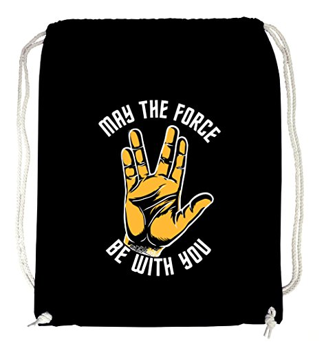Preisvergleich Produktbild Certified Freak May The Force Gymsack Black