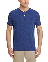 Blackberrys Mens T-Shirt (8907196447355_TSANDELNYAM16BTY40_40_Blue)