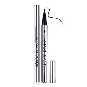 Generic Black: 1PC Wholesale Extreme Black Waterproof Makeup Cosmetic Eyeliner Pencil Pen Nice Easy Use Women' s Fashion…