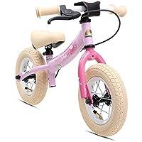 BIKESTAR Kinder Laufrad Lauflernrad Kinderrad für Mädchen ab 2-3 Jahre ★ 10 Zoll Sport Kinderlaufrad ★
