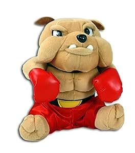 LG - Peluche Chien Bulldog Boxeur 25 cm
