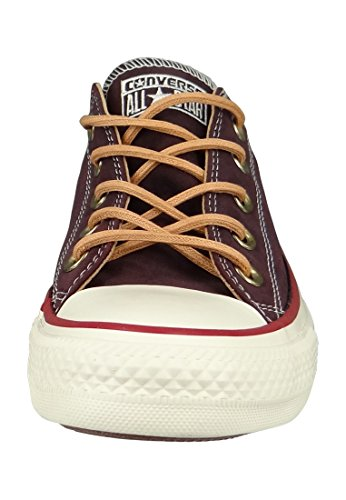 Converse All Star Ox Herren Sneaker Dunkel Rot Rot