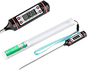 MCP Digital Instant Read Thermometer For Cooking Kitchen Food, Meat & Bbq