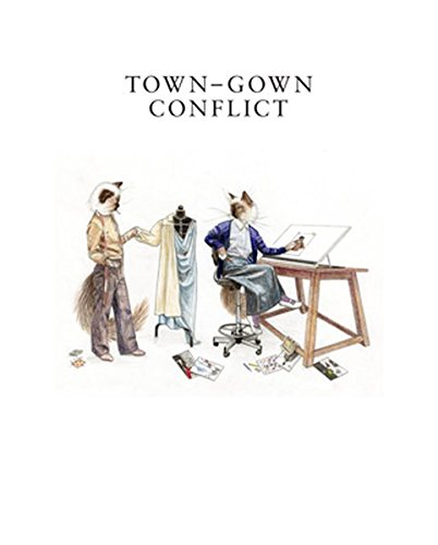 Town-Gown-Conflict (Anna Modernen Kostüm)