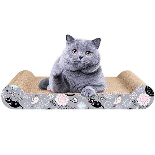Likea tiragraffi per gatti, prodotto di design in cartone ondulato,ideale come lounge, letto, cuccia, palestra e graffiatoio,completamente riciclabile