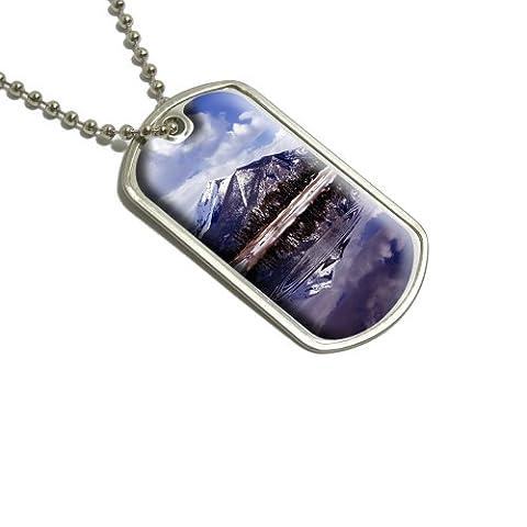 Rocky Mountain Réservoir Militaire Dog Tag bagages