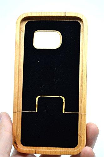 custodia s7 edge samsung in legno