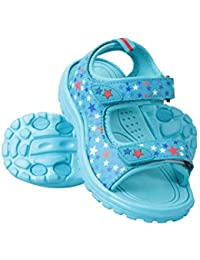 6069e03180f82b Mountain Warehouse Sand Girls Sandals - Neoprene Kids Beach Shoes