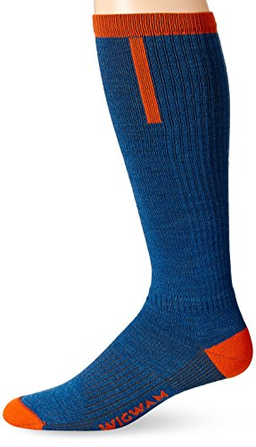 Wigwam Damen Snow Fusion Ultra Lite Socken, Tango, Size UK 5-8/EU 37-42 - Wigwam-ski-socken