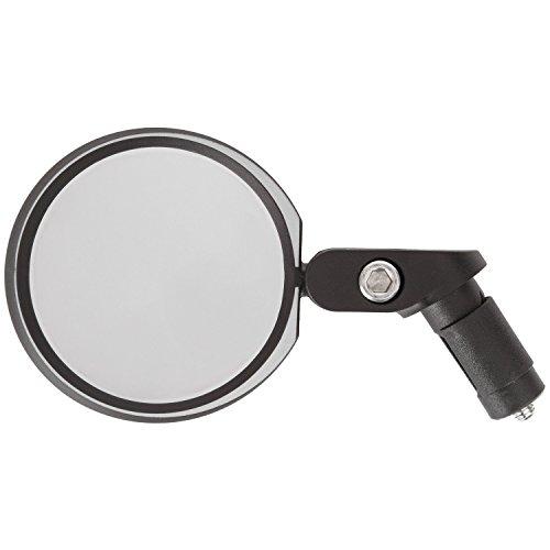 M-Wave Spy Space In 3D Fahrradspiegel, Entspiegeltes Und Schlagfestes Echtglas, schwarz