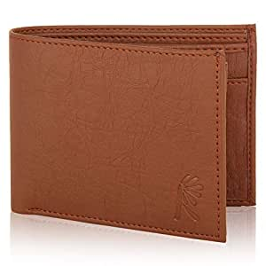 Fashionever R 655 Men's Fabric Wallet - Brown