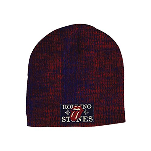 Rolling Stones Beanie Rib W/Patch Knit Multicolor (Beanie Knit Rib)