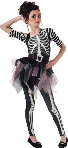 Rubie's Skelee Ballerina Dress-Up Costume, Medium by ()