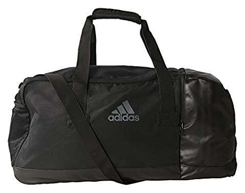 adidas Performance Sac de Sport Homme, Noir/Vista Grey,