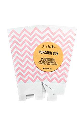 arty Geburtstag - Chevron - Rosa 1 Pack (12 boxes) (Popcorn-boxen-baby-dusche)