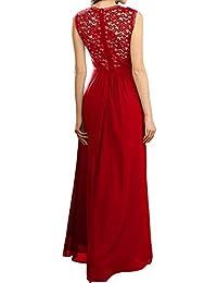 Amazon.es  vestidos de fiesta - Rojo   Vestidos   Mujer  Ropa 7a18d1c927ff