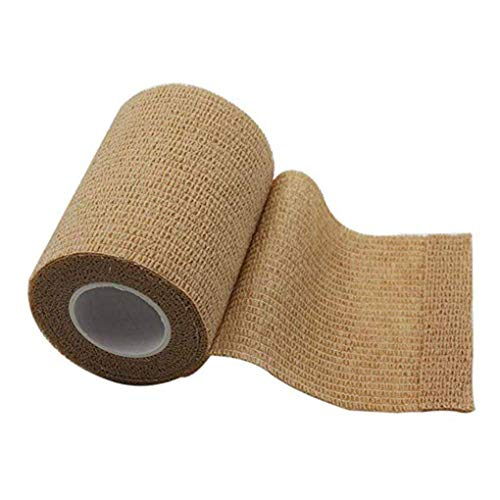 fish 10cmx4.5m autoadhésif d'urgence Emballage Bandage Sports de Plein air Garde Poignet Ruban élastique Tissu Bandage Nonwoven