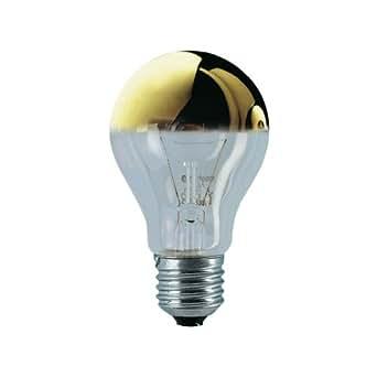 Osram gl hlampe spezial kopfspiegellampe in gold e27 sockel 60 watt beleuchtung - Kopfspiegellampe led e27 ...