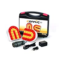 BITS4REASONS CONNIX LIGHTING SET WIRELESS LED TRAILER MAGNETIC CABLE FREE ECE REG 10, E-APPROVED CE RoHS LAMMA GOLD MEDAL WINNER SUPPLIED UK