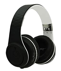 Fanny Wang 2000 Series Over Ear DJ Headphone with Remote - Black/White
