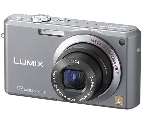 Panasonic DMC-FX100 EG-K Digitalkamera (12 Megapixel, 3,6-fach opt. Zoom, 6,4 cm (2,5 Zoll) Display, Bildstabilisator)