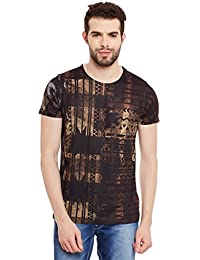 Wear Your Mind Multicolour Polyester Printed Tshirt For Men CST321