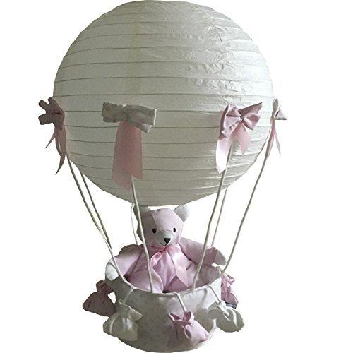 lampara-globo-oso-topos-rosa