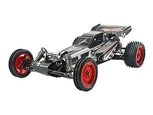 Tamiya DT03 Buggy 1:10 - Vehículos de Tierra por Radio Control (RC) (Buggy, 1:10, Kit de Montaje, Negro, Rojo, Mate, 2 Canales)