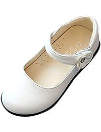 Amazon.it  Stringata - Sandali   Scarpe per bambine e ragazze ... cb8e8e93f40