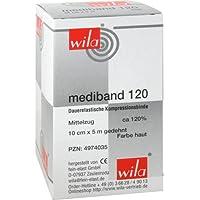 MEDIBAND 120 Mittelzugbinde 10 cmx5 m hautfarben 1 St Binden preisvergleich bei billige-tabletten.eu
