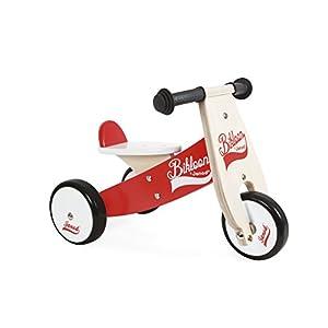 Janod Cavalcabile Little Bikloon Bicicletta, Legno
