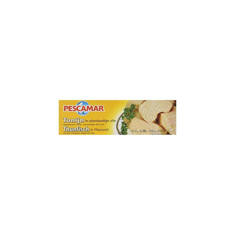 Pescamar Fische Thunfisch Sonnenblumenl 4er Pack 4 X 240 G