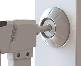 CalMyotis Sicherheits Wandschutz für Treppenschutzgitter, Druck Tür Schützt Treppen, Türen, Tore und Wände