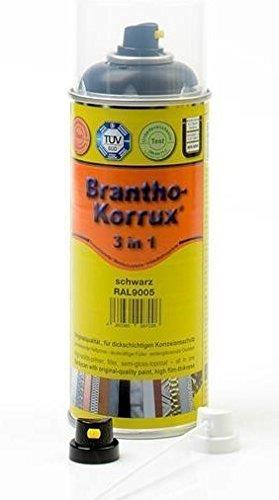 """Preisvergleich Produktbild Brantho Korrux """"3 in 1"""" 400 ml RAL 7035 lichtgrau,  Komfort-Sprühdose,  Rostschutzfarbe"""