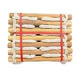 BAI-Fine Seil-Ladder3M, 5M, 10M, Weiche Leiter Home Escape-Leiter Nylon-Sicherheitsseil-Leiter-Trainingsleiter (Farbe : EIN, Größe : 10M)