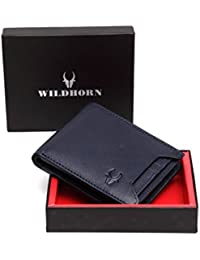WildHorn Blue Men's Wallet (WH1251)