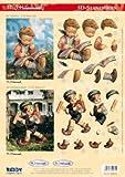 Reddycards 3D Stanzbogen M.I. Hummel Nr.74