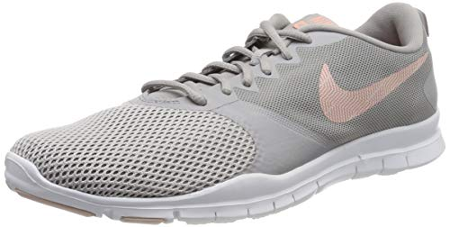 Nike Damen Flex Essential Gymnastikschuhe, Grau (Atmosphere Quartz/Echo Pink/Vapste Grey/White 009), 37 1/2 EU